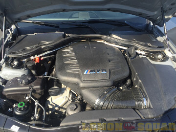 Sample Picture of the engine compartment of a 2011 BMW M3