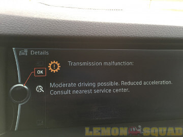 Sample picture showing transmission issue