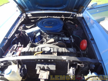 Sample picture of an engine compartment