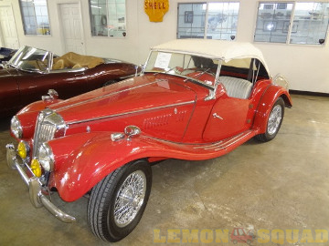 Sample overall picture of a 1954 MG TF