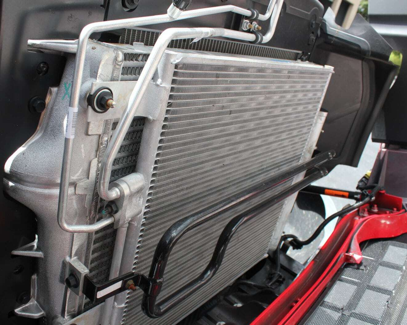 (Sample) Open View of the radiator.