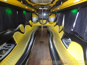 Sample picture showing interior of limo