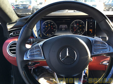 Sample picture showing the view from the driver's seat
