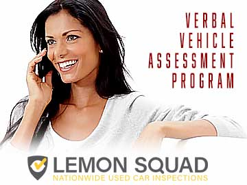 Verbal Vehicle Assessment Report