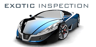 Exotic Car Inspection